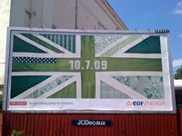 EDF Green Union Flag Thieves