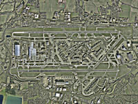 Heathrow Airport - Aerial shot